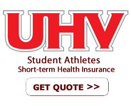 Short Term Health Insurance for UHV Athlete Students
